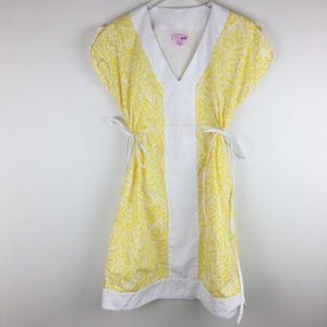 Lilly Pulitzer yellow Dominique tunic dress